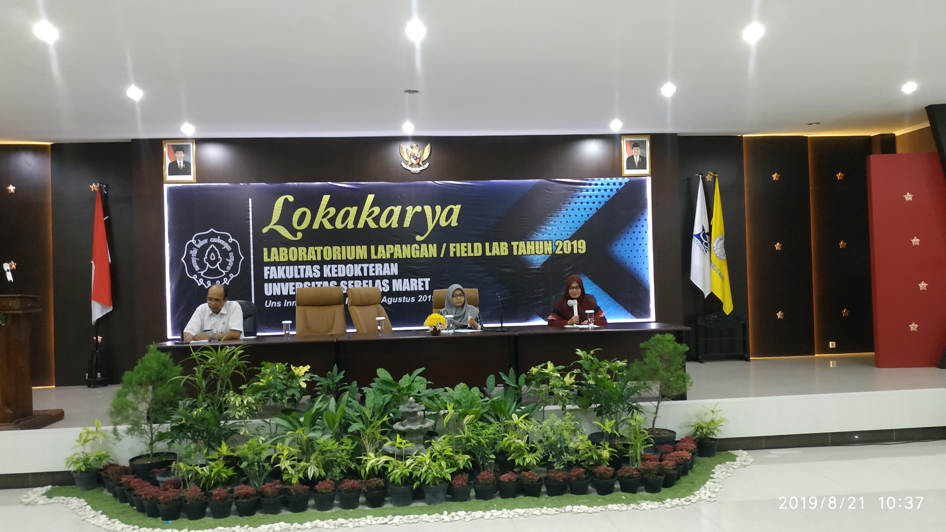 LOKAKARYA LABORATORIUM LAPANGAN / FIELD LAB 2019