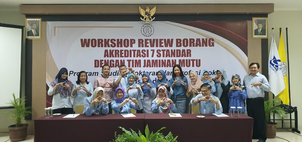 Workshop Penyusunan & review  Borang Akreditasi 7 Standar oleh Tim Jaminan Mutu FK UNS