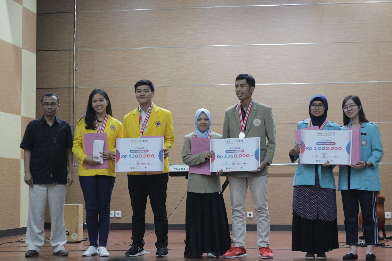 Mahasiswa Raih Juara III Bidang Muskuloskeletal Regional Medical Olympiad