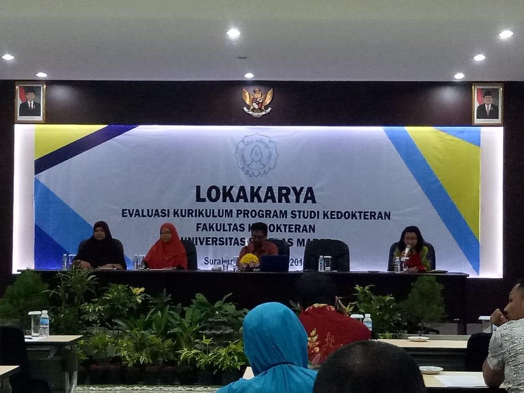 Lokakarya Evaluasi Kurikulum Program Studi Kedokteran 2019