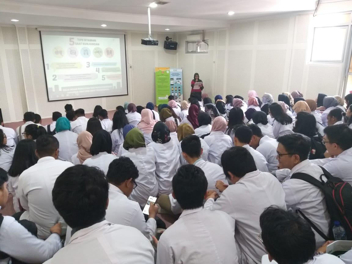 Mahasiwa Melakukan Praktikum ke B2P2TOOT Tawangmangu