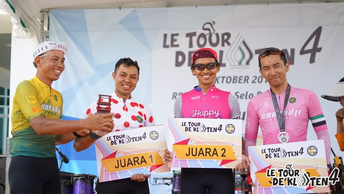 Juara 2 Le tour de Klaten