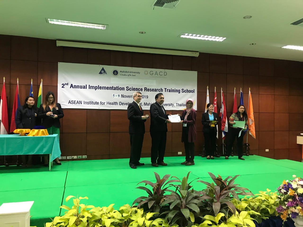 Dosen FK UNS, Vitri Widyaningsih, mendapatkan scholarship grant di Thailand
