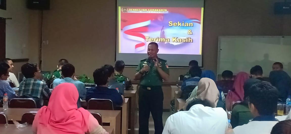 Sosialisasi Perekrutan Tenaga Kesehatan TNI
