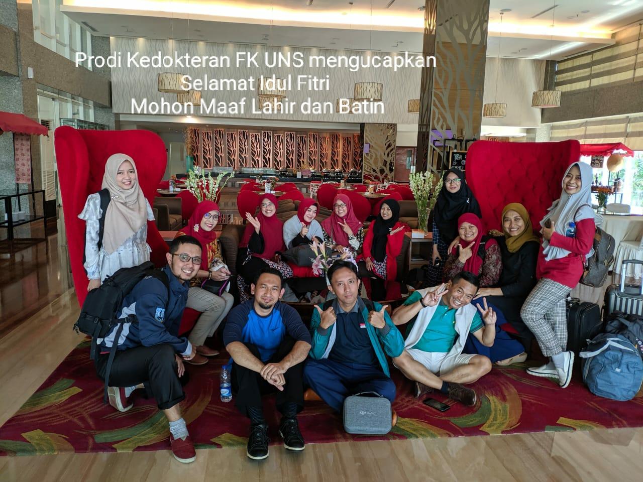 Program Studi Kedokteran FK UNS mengucapkan Selamat Hari Raya Idul Fitri 1441 H