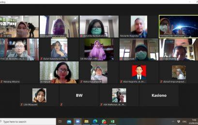 Rapat koordinasi Dekanat, prodi Kedokteran dan Lab