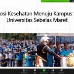 Go Green to Health Promoting University National Webinar