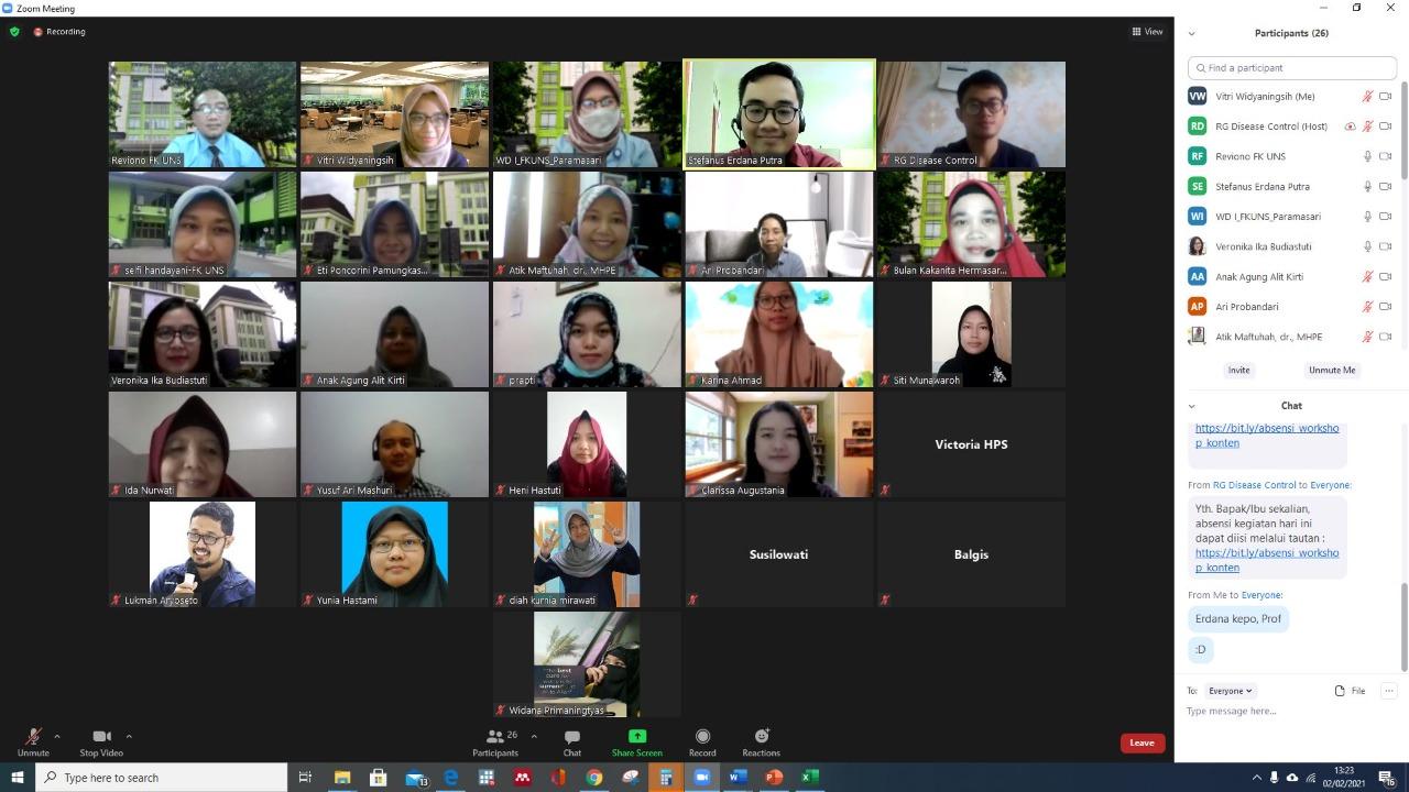 Workshop Pengembangan Konten Video Pembelajaran oleh TIM HITIE dan HITIE Alliance