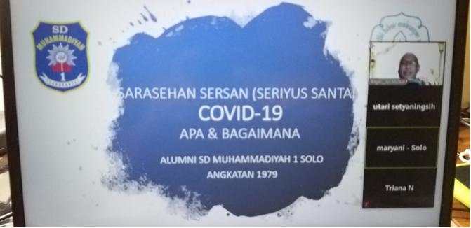 Sarasehan Sersan (serius Santai) Covid 19, Apa dan bagaimana?