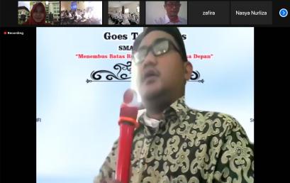 Kunjungan Virtual SMA Islam Terpadu Al Kahfi di FK UNS