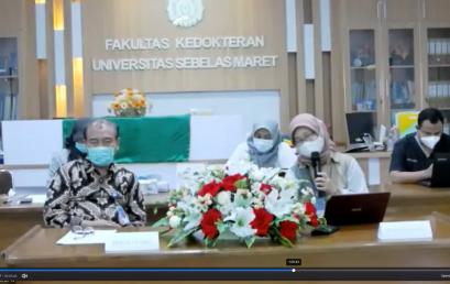 Silaturahmi dan Sosialisasi Kesiapan Pembelajaran  Clinical Skill FK UNS