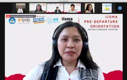"""Acara briefing mahasiswa """"Student Exchange""""seluruh Indonesia yang akan mengikuti course di UK dalam rangka MBKM"""