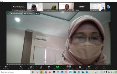 Workshop Pengembangan Kurikulum Kelas Internasional, 29 September 2021, Narasumber dr Fundhi Sinar Ikrar Prihartanto, MMEdEd dari FK Unair